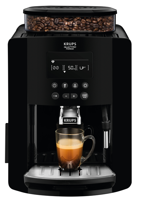 Arabica Digital EA817040 Espresso Bean to Cup Coffee Machine / Black